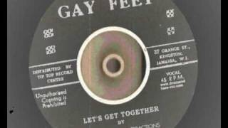 Download Johnny & The Atractions - Lets Get Together - Gay Feet Records repress Rocksteady MP3 song and Music Video