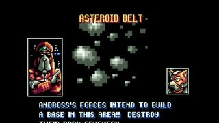 Star Fox / Starwing Snes (Route 1) - Stage 2 - Asteroid Belt