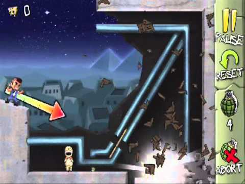 Fragger Monster Dash Level 25 - Solution Walkthrough