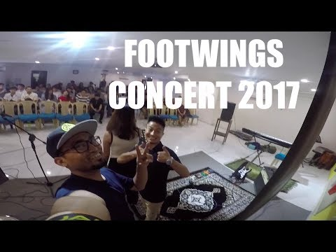 FOOTWINGS | Full Concert Video 2017 (GoPro Capture on Bass guitar)
