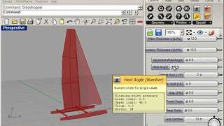 CAD model of America's Cup AC45 Wing Sail Catamaran