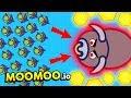 MooMoo.io - NEW BIG BULL BOSS AND DESERT UPDATE! (MooMoo io Funny Gameplay)
