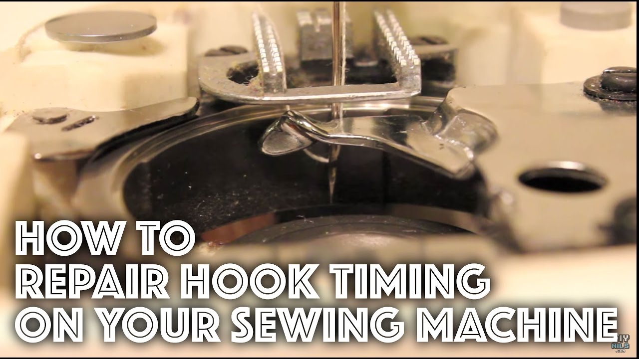 how to fix repair the hook timing on a sewing machine youtube rh youtube com