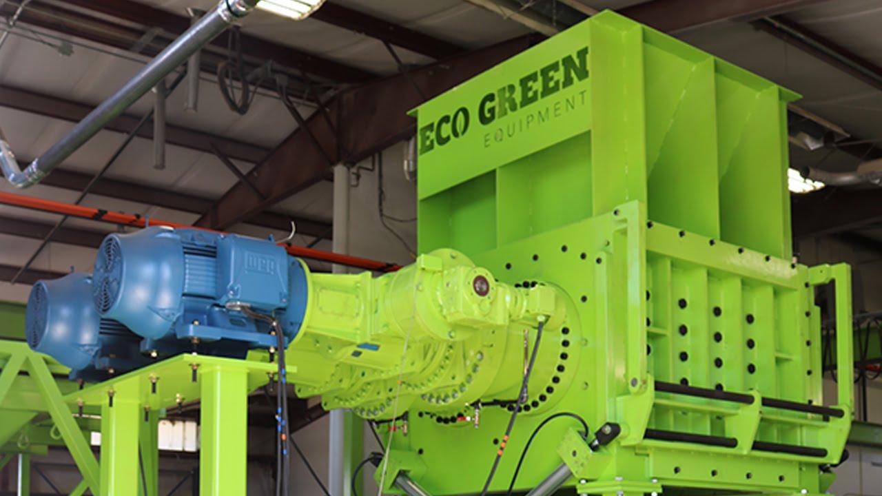 Eco Green Equipment | Tire Shredders | Tire Recycling Equipment