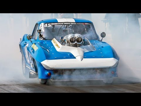 Turbo Cars Should FEAR This Man - Drag Week 2017 CHAMP!
