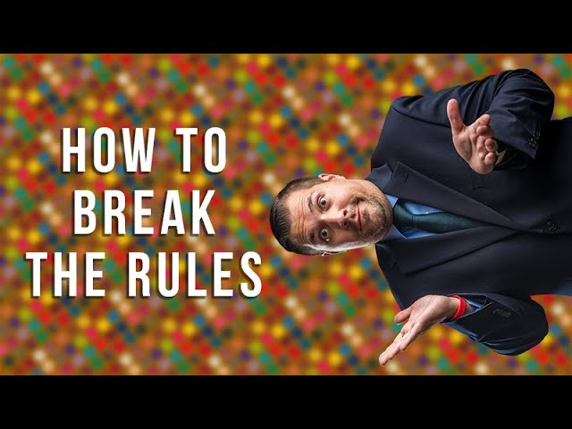 How to Break the Rules of Photography and Win