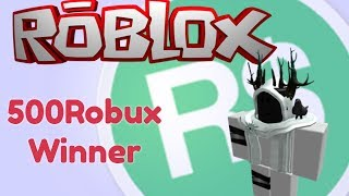 [Roblox] Winner Of The 500Robux Giveaway!! More Gameplay?!