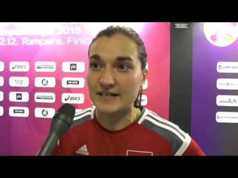 WM 2015 | Viertelfinal SUI - LAT: Interview mit Corin Rüttimann