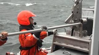 Vestdavit - PLAR-3600 - Davit for Fast Rescue Craft (Royal Swedish Navy)