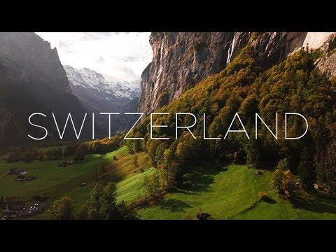 Switzerland in September / 4k Aerial Film