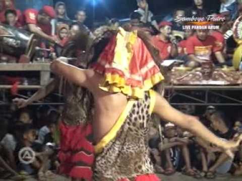 JARANAN SAMBOYO PUTRO live pandanarum  # klono sewandono - ganongan #