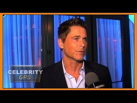 Rob Lowe feeds firefighters in Santa Barbara -  Hollywood TV