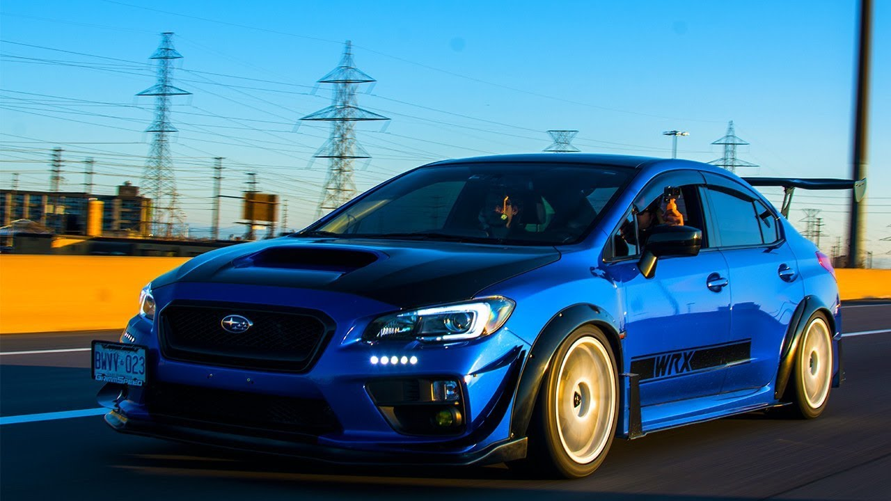 Subaru WRX CVT Loud Exhaust | Track Tuned and Modified | Automatic Transmission