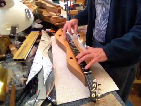"""Spiral arms"" by Aschmann & Kimmel on a Beede chromatic dulcimer"
