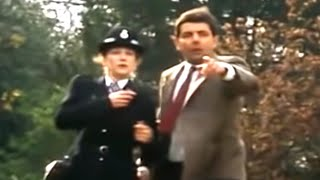 Police Bean | Funny Clips | Mr Bean Official