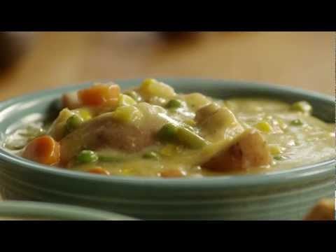 Chicken Pot Pie Recipe - How to Make Slow Cooker Chicken Pot Pie Stew
