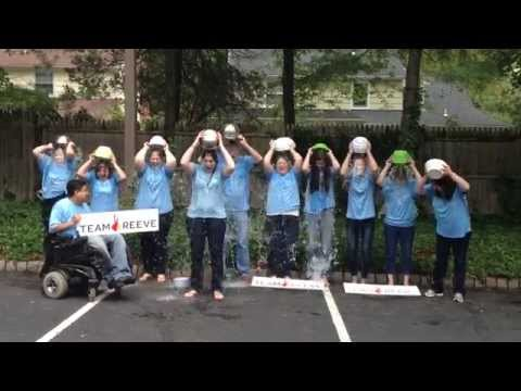 The Reeve Foundation takes on the Ice Bucket Challenge