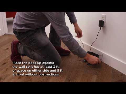 Shark ION ROBOT™ – How do I set up the charging dock?