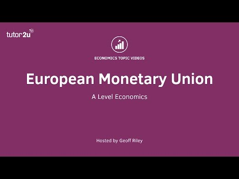 European Monetary Union (Revision Webinar Video)