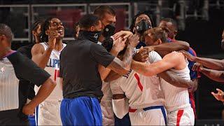 Reggie Jackson Game Winner vs Pistons! 2020-21 NBA Season