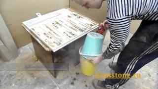 изготовление искусственного камня из гипса прогресс(Изготовление искусственного камня в бытовых условиях. Легко и просто!, 2011-03-03T14:24:15.000Z)