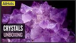 #Aliexpress gemstones - unboxing crystals, pyramids and spheres - Vol .2 || AliHolic