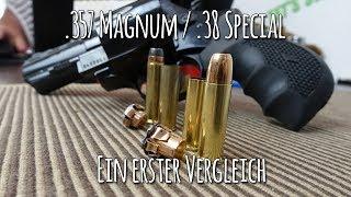 .38 Special vs .357 Magnum - ein kleiner Vergleich - Let's Shoot #125