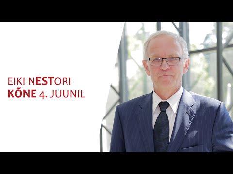 Eiki Nestor: Eesti riik on meie kõigi kodu