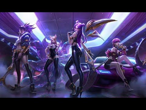 The Afterparty Popstar - K/DA Kai'sa, Evelynn, Ahri & Akali