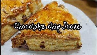 [홈베이킹]초코칩스콘 만들기_Chocolate Chip…
