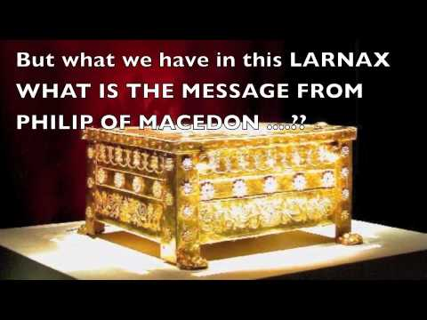 LARNAX OF AIGAE MACEDON  what mean..