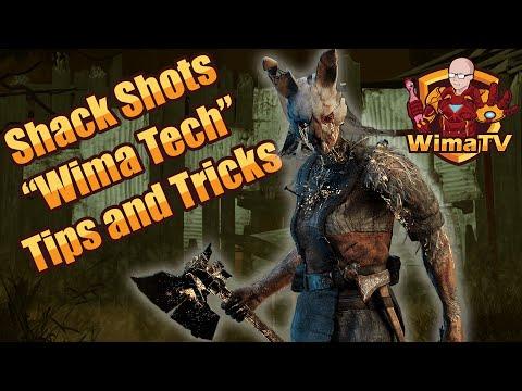 Huntress Shack Shots - Wima Tech - Tips And Tricks - Huntress DBD