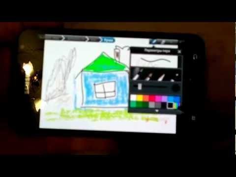 Samsung Galaxy Note - фото и видео редакторы.