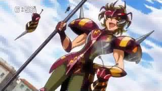 聖闘士星矢Ω66話の予告です。 鋼鉄(スチール)奮闘!名も無き勇者たち!