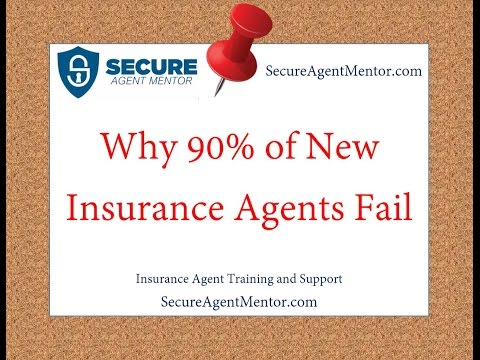 Why 90% of New Insurance Agents Fail