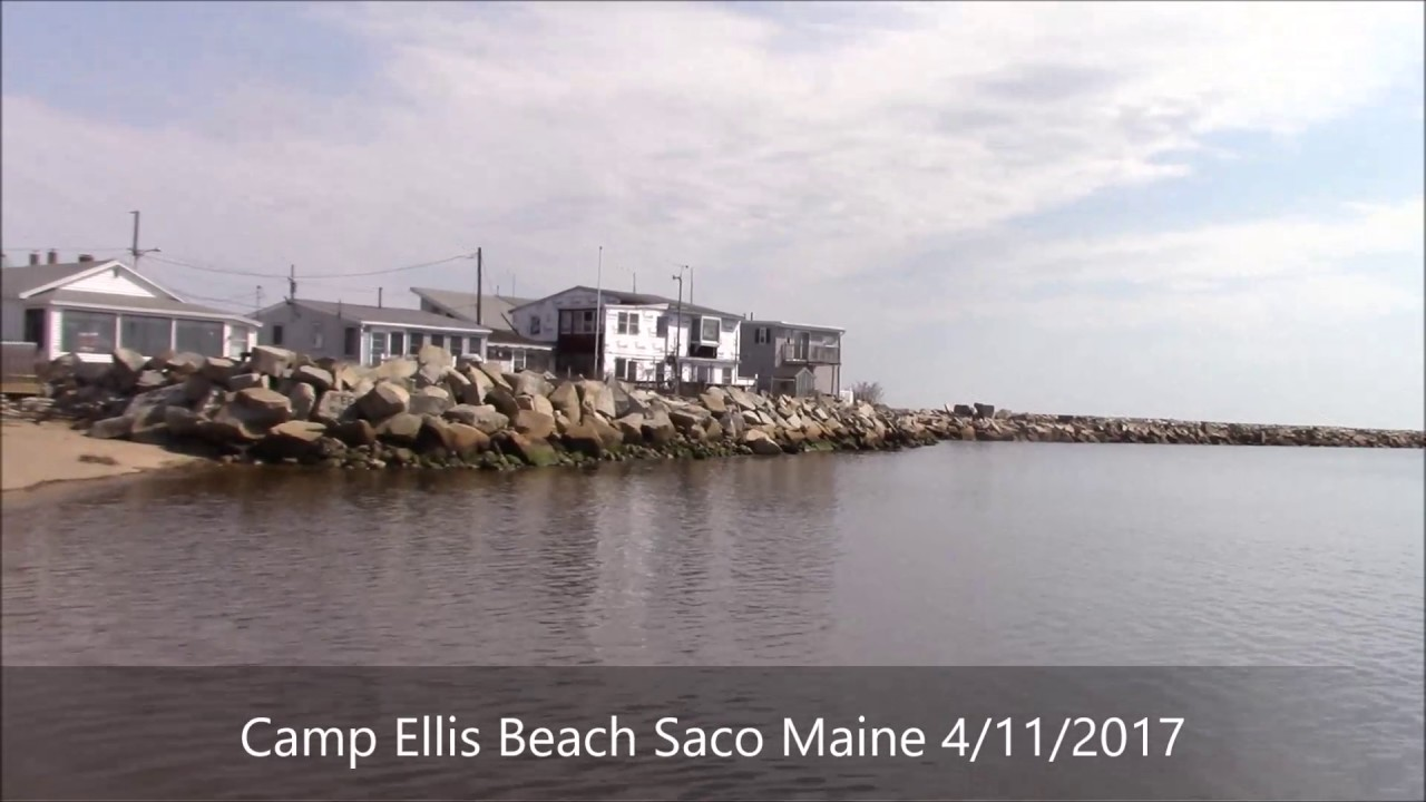 Tropical Camp Ellis Beach Saco Maine 4 11 2017