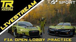 [GT Sport Livestream] - GT3 GALORE || FIA Open Lobby Practice