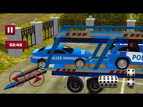 Cargo Truck Police Cars: Cargo Transport Games - Android Game - Game Rock