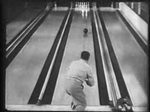 Bowling Tricks with Andy Varipapa 1948
