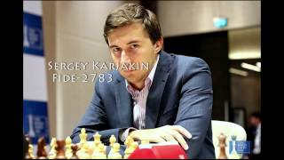 Top 10 chess players in the world!(march 2017)