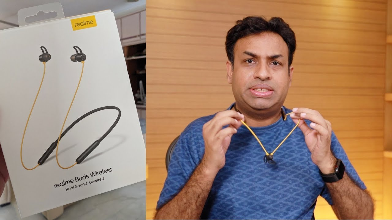 Realme Buds Wireless Bluetooth Earphones Review Youtube