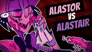ALASTOR MURDERS HIMSELF?? - Hazbin Hotel Comic Dub