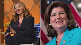 Lucy McBath claims victory but Karen Handel says not so fast