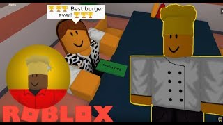 How to get GOLDEN CHEF Badge in COOK BURGERS (ROBLOX)