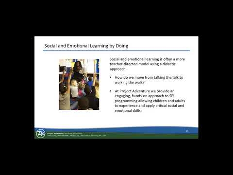 Social and Emotional Learning Doing