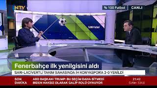 Rıdvan Dilmen ve Murat Kosova ile %100 Futbol | Fenerbahçe - İ.H. Konyaspor (7 Kasım 2020)