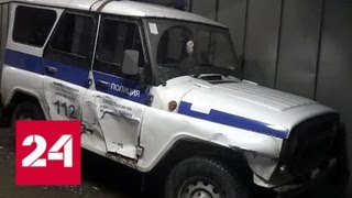 Виновнику ночной погони в Клину придется компенсировать порчу патрульных машин - Россия 24