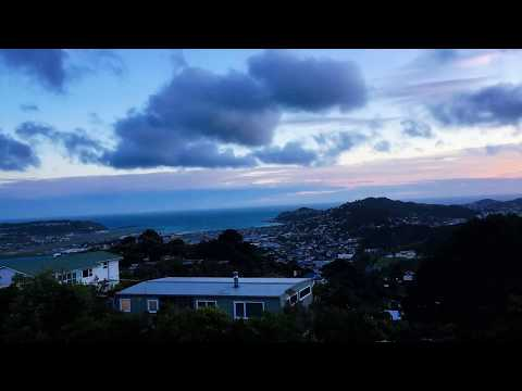 Sunset on Windy Welly - Mt Victoria Lookout