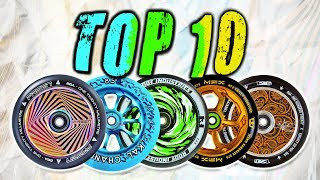 TOP 10 BEST PRO SCOOTER WHEELS 2017