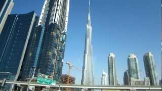 Дубаи. Высотные здания(Дубаи. Бурж Халифа и другие высотные здания., 2013-03-08T14:39:52.000Z)